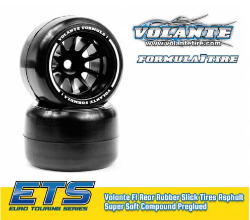 ETS Volante F1 Rear Asphalt SUPER SOFT Compound Preglued