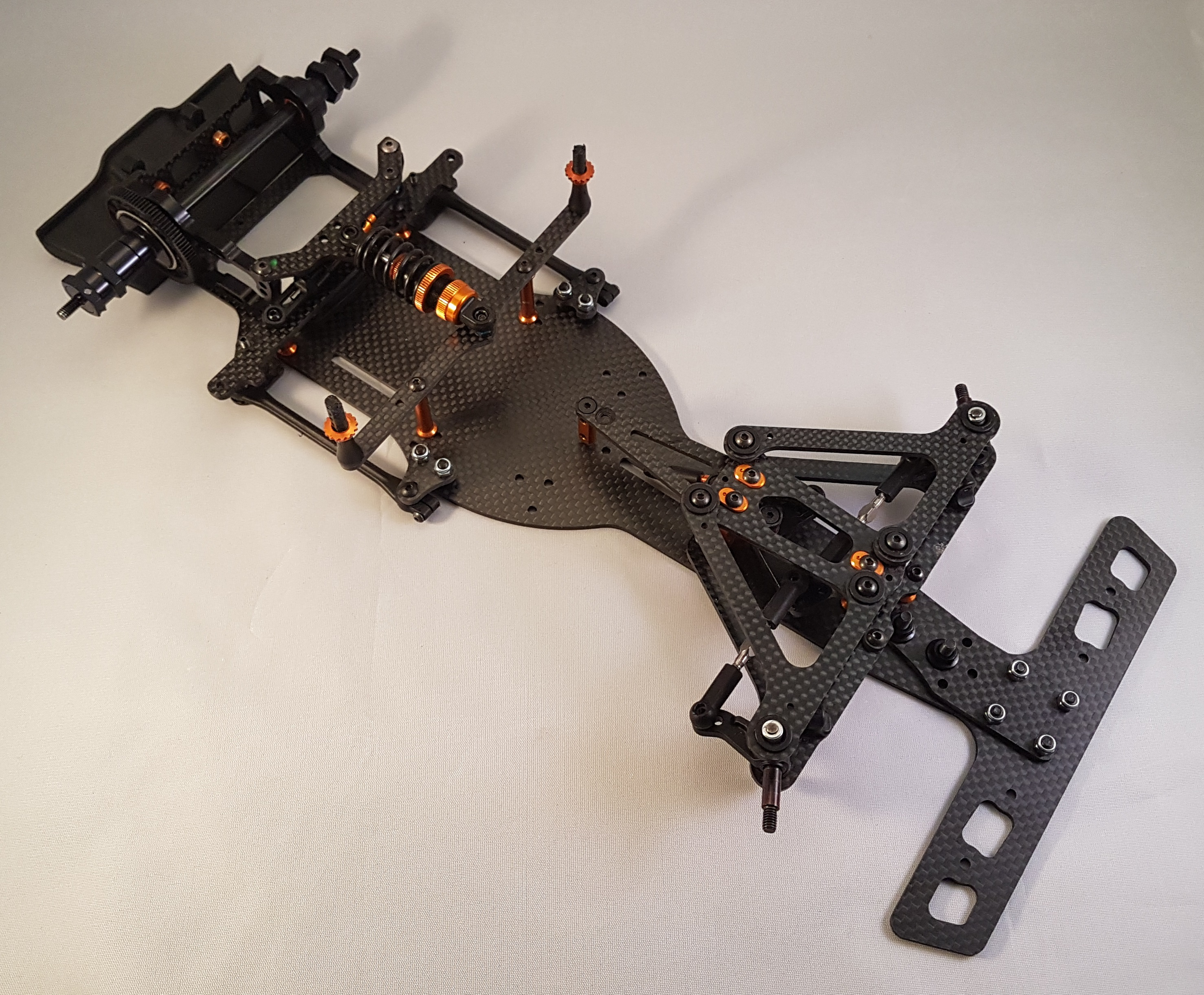 LM001 - LM bumper conversion for Formula one chassis
