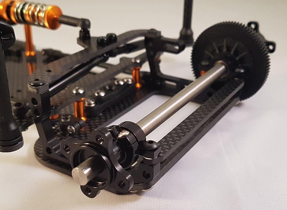OPT036  Xray X10 2016/2018 -  conversion 235mm