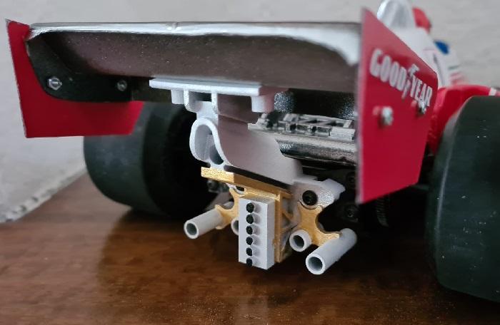Classique - Fenix Ferrari T2 Rear Wing Stay