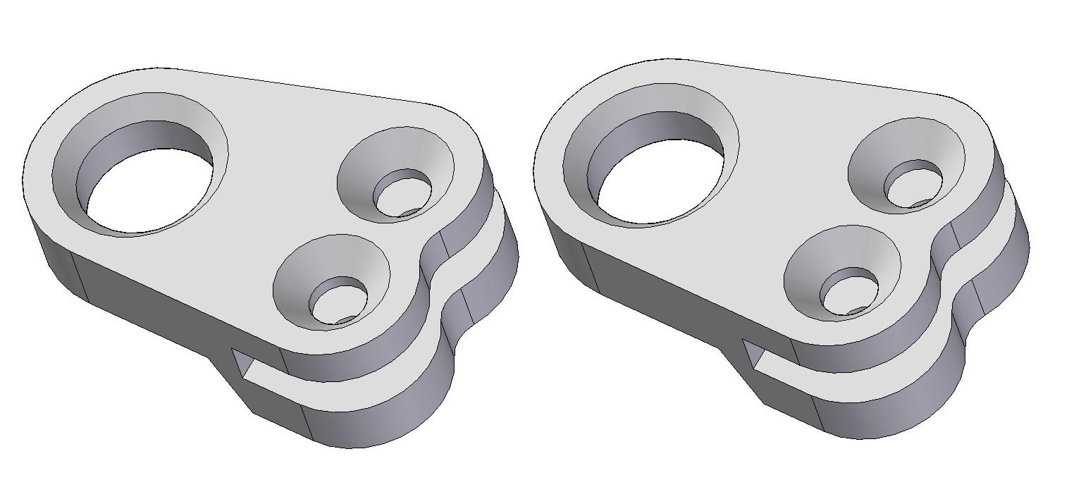 Sphere holder (2pcs)