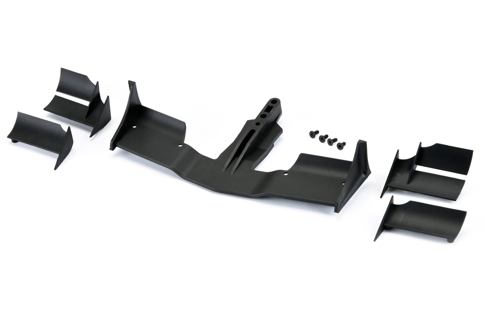 PF-1729-03 -PROTOform V2 F1 Front Wing (Black)
