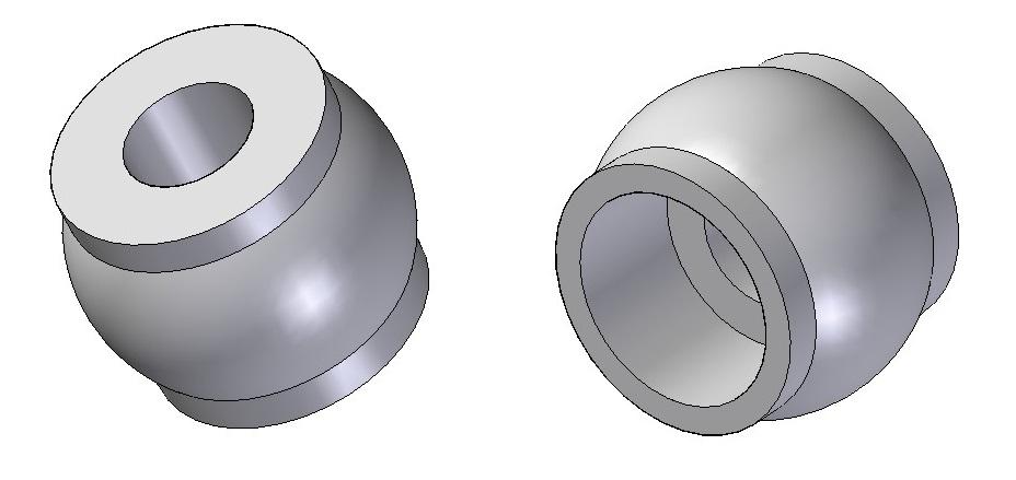 Suspension sphere (2pcs)