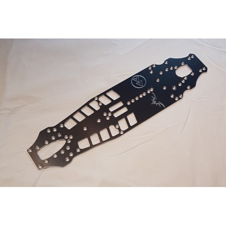 OPT059 - Fast Forward FWD chassis conversion - Associated TC 7.2 - 2mm 7075 Chassis