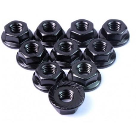 Aluminium Serrated Lock Nut 4mm