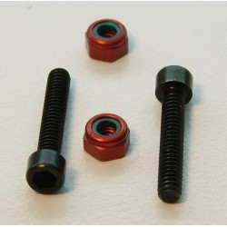 3242 - Clamp screw + nut-pivot ball (2)