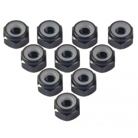 Aluminium Lock Nut M4mm
