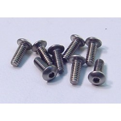 1259 - 2-56 x 1-4 Button Screws