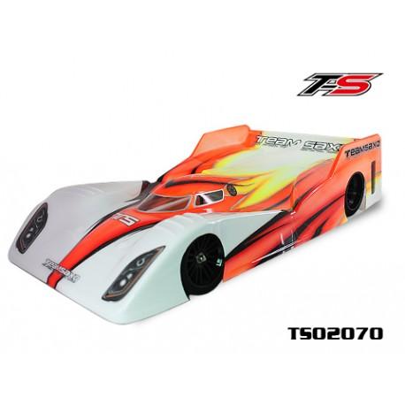 TS02070 - Team Saxo 1:10 Pan Car Clear Body 235mm