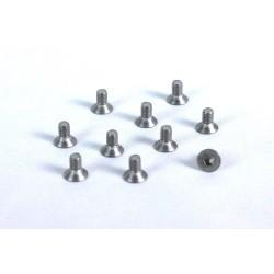 Screw - M3*8 - Titaniun Hex Socket Countersunk