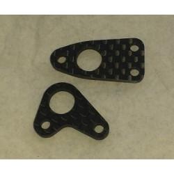 Steering link + Ackermann plate